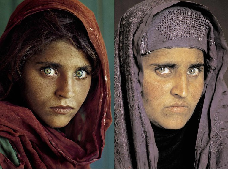 Search for Steve McCurry Afghan Girl