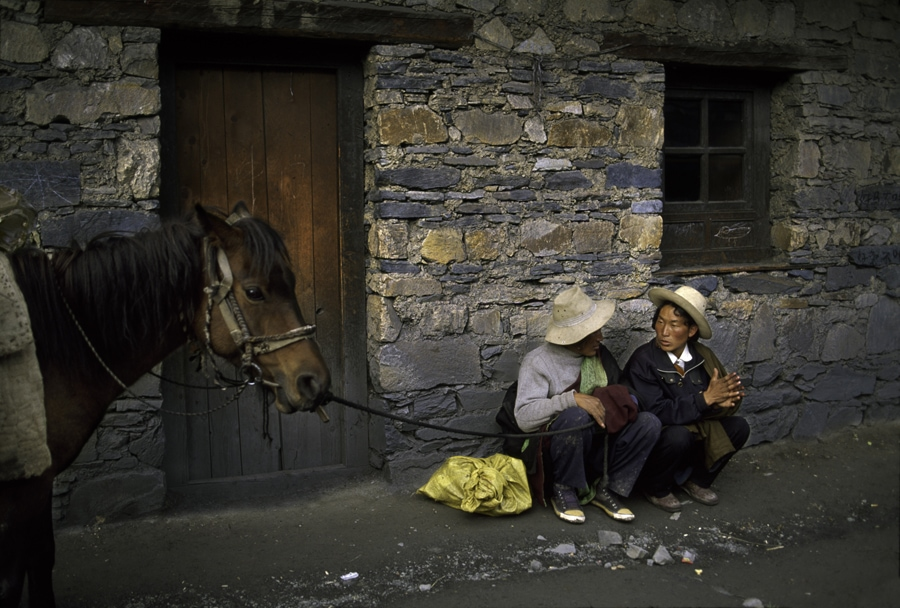 Steve McCurry Tibet Photography
