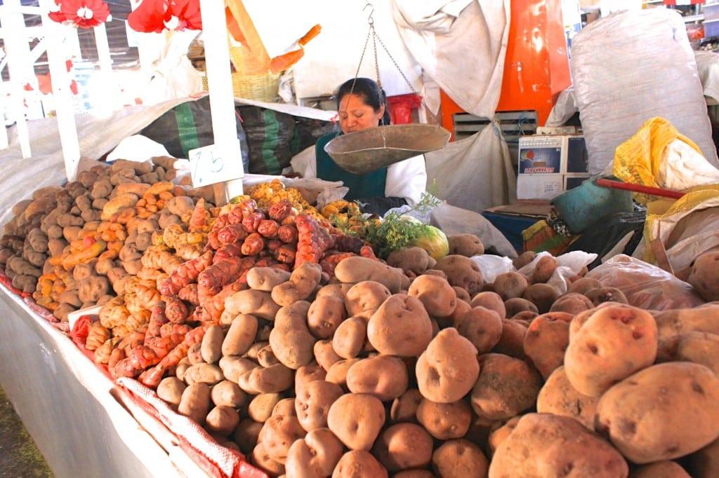 San Pedro Market in Cusco