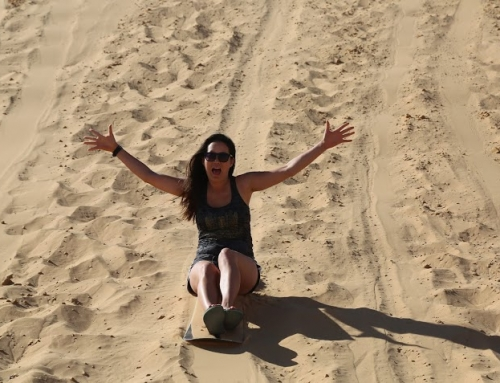 When in Israel, go Sand Boarding!