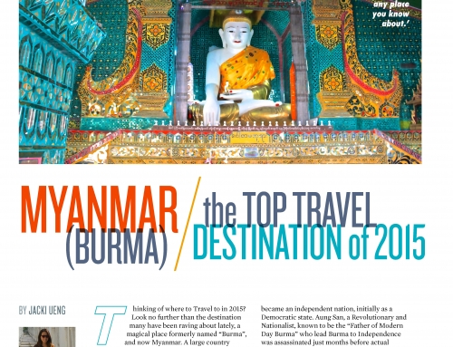 BURMA: Top Destination of 2015