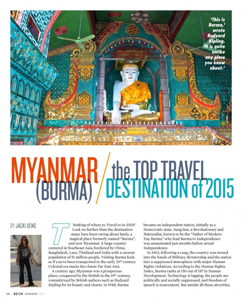 Myanmar Travel Blog