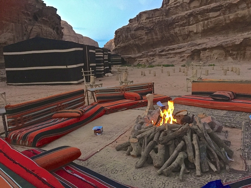 Camping with Bedouins in Wadi Rum