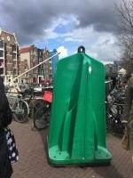 celebrating koningsdag in amsterdam