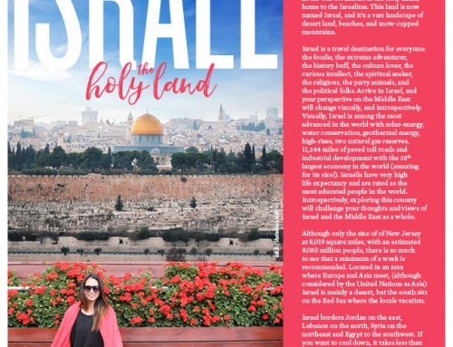 Published: Israel, The Holy Land