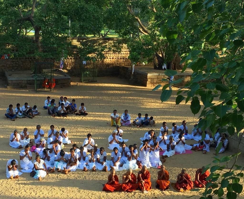 Buddhist Temple Anuradhapura