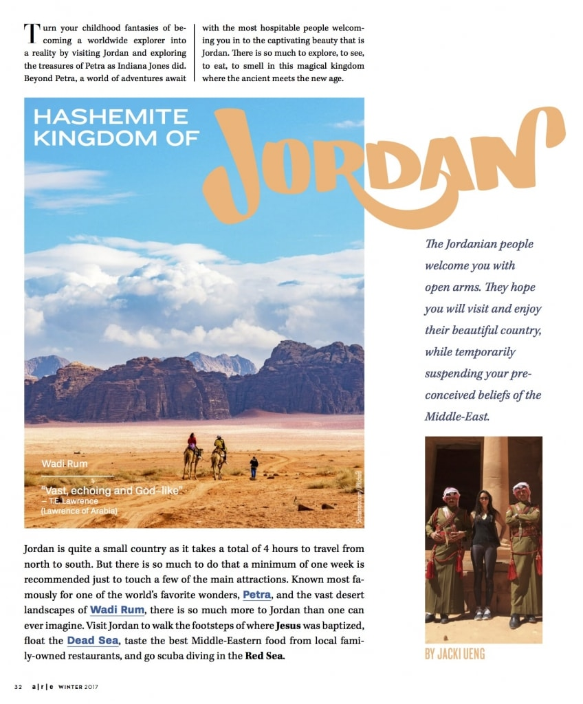 Jordan Travel Blog