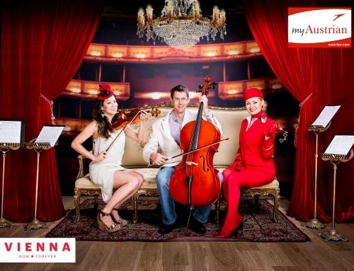Austrian Air: Nonstop LA to Vienna