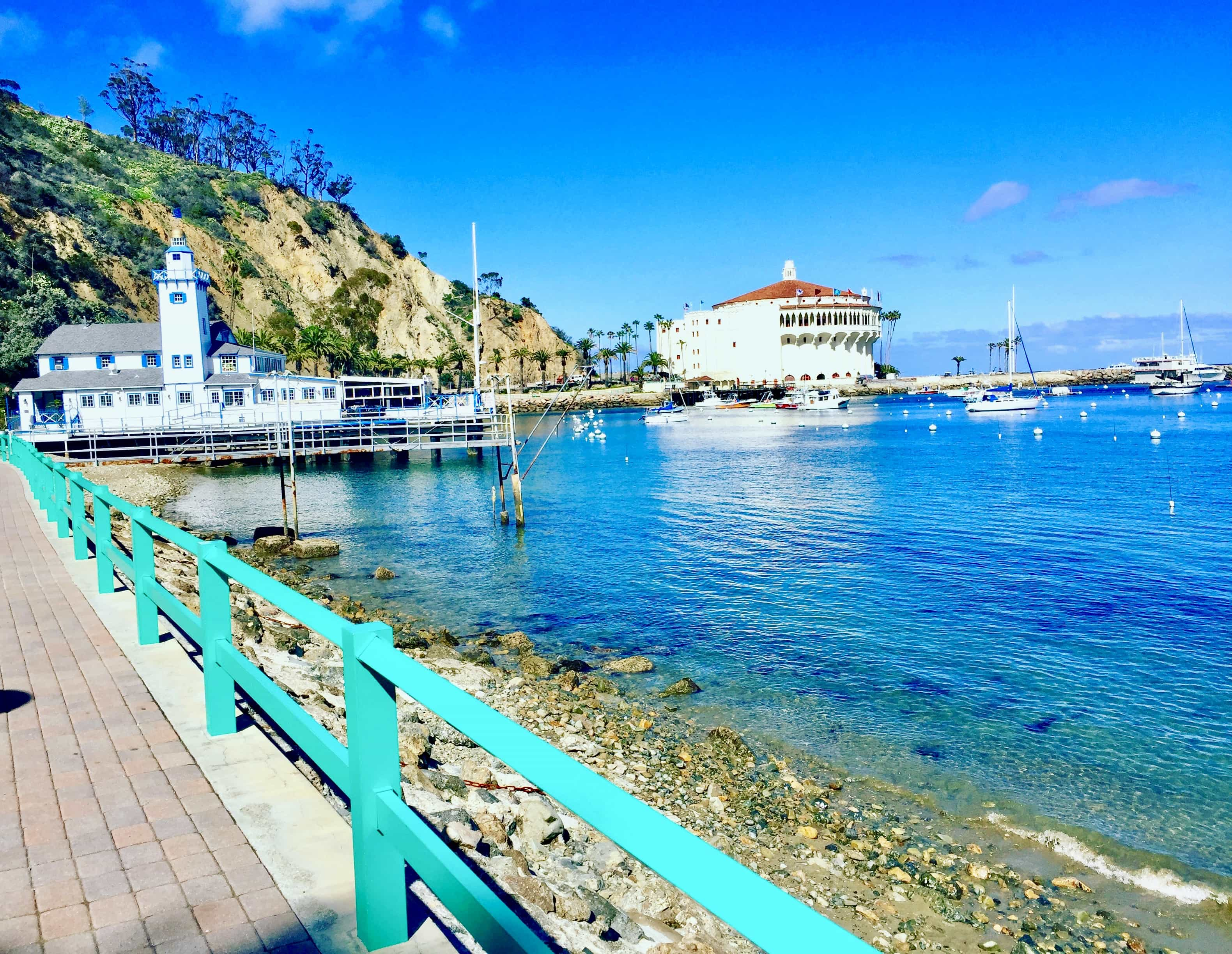 And Descanso Beach Is Where The Day Fiesta Music At Catalina Island