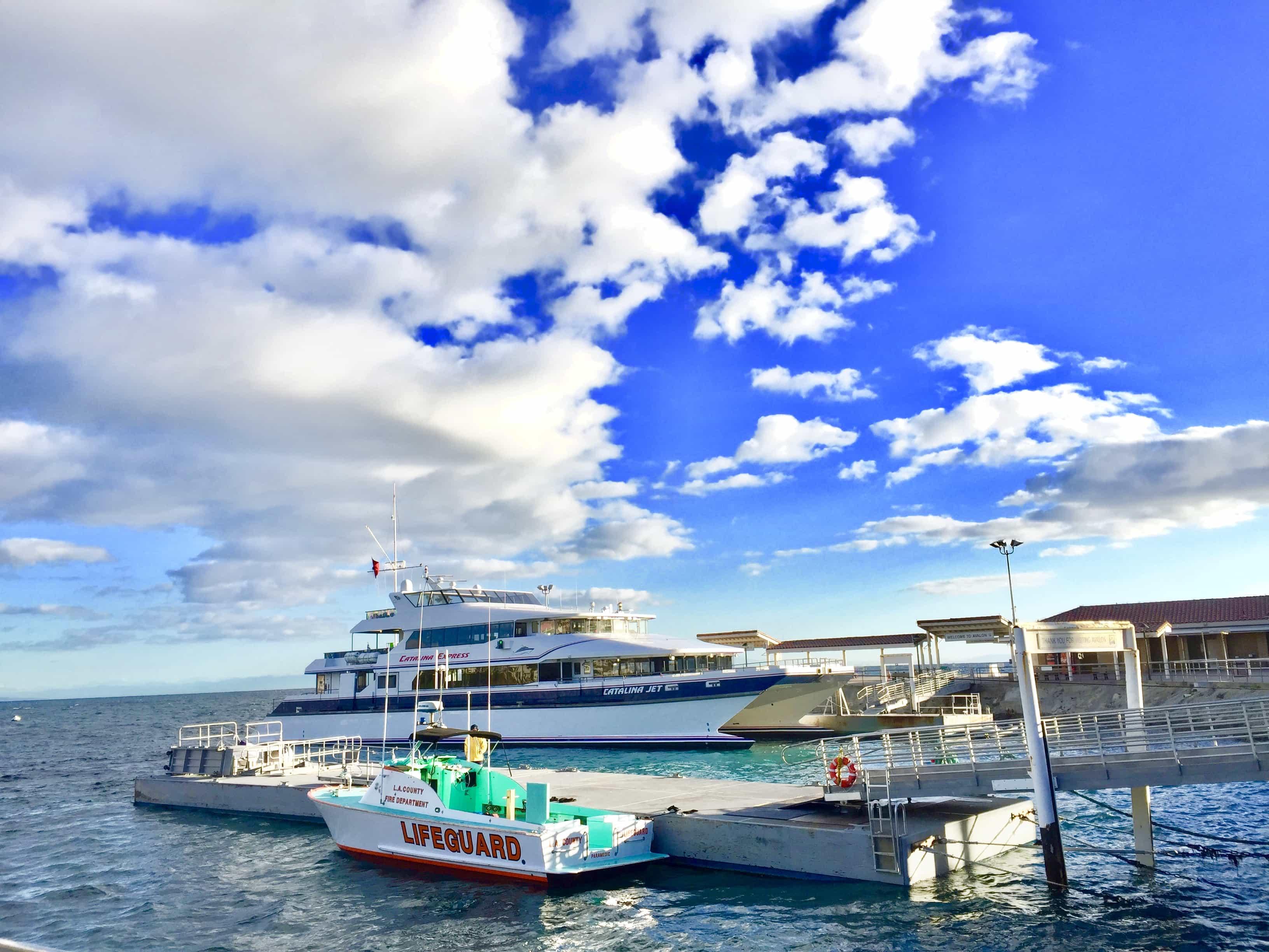 Santa Catalina Island Ferry Birthday