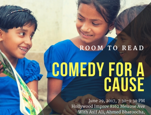 Room to Read 'Comedy for a Cause'