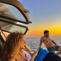 sunset boat batroun