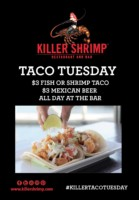 Killer Shrimp Taco Tuesdays