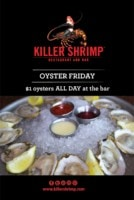 Killer Shrimp Oysters