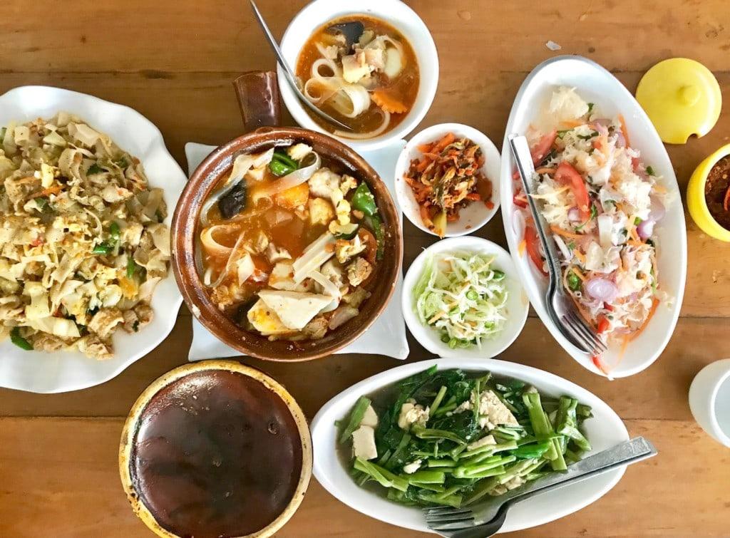 Restaurant near Shwedagon