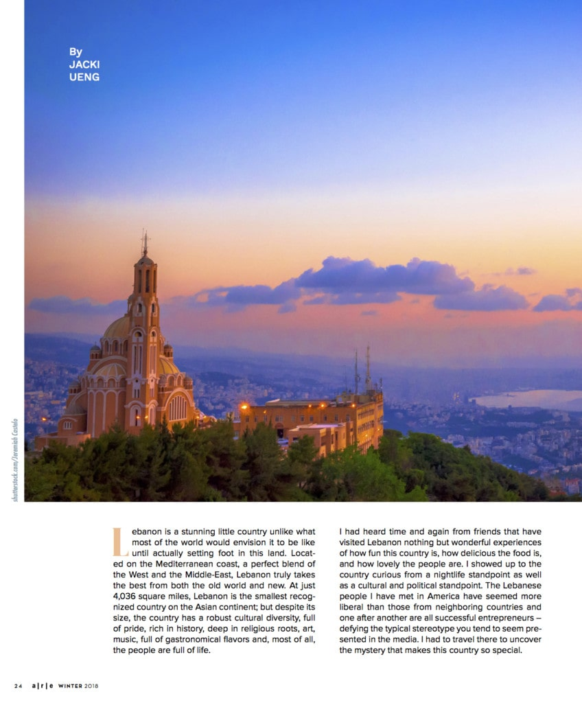 Lebanon Travel Article
