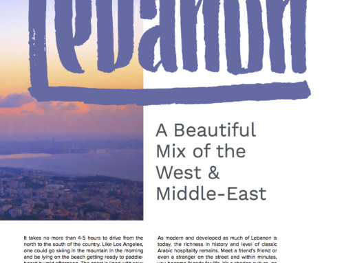 Lebanon: Beautiful Mix of West & East