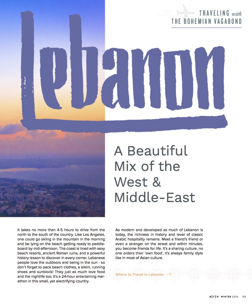 Lebanon Travel Magazine