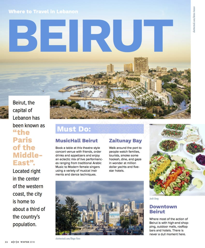 Beirut Travel Blog