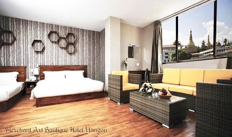 Hotel near Shwedagon