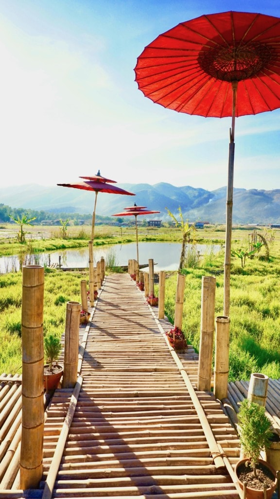 Best place for sunset in Inle Lake