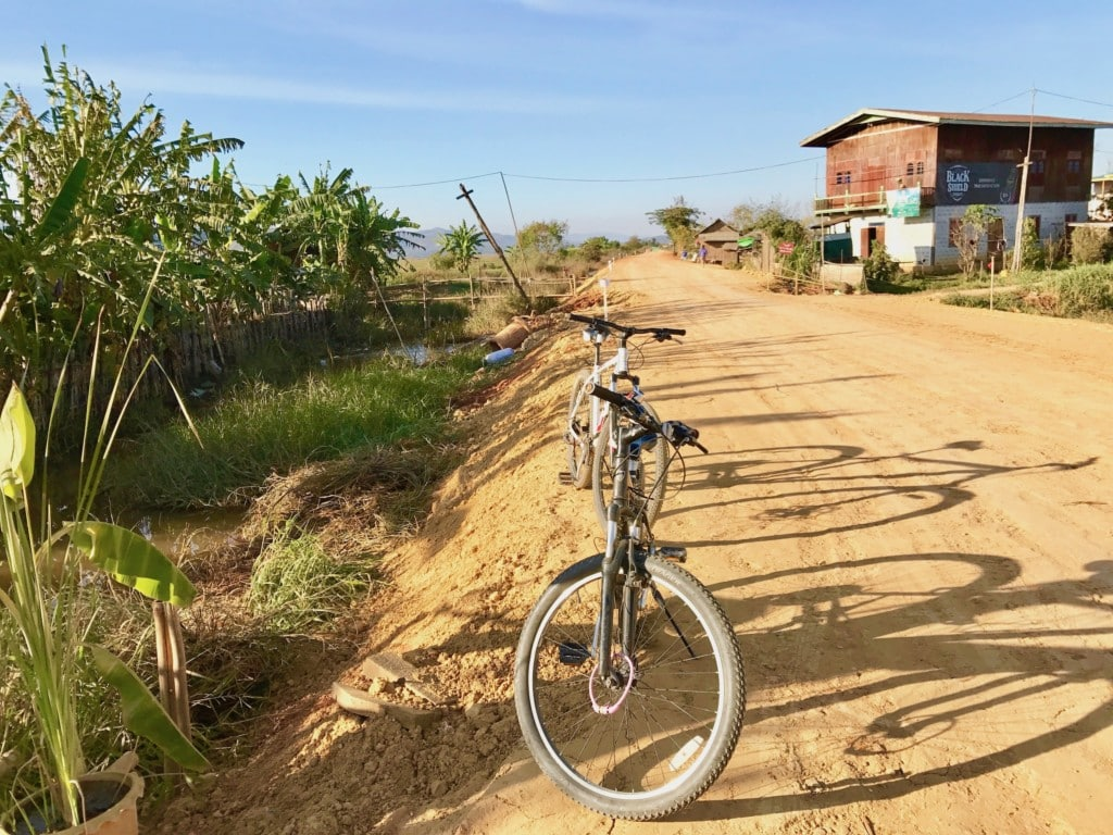 Bicycle Ride in Inle Lake