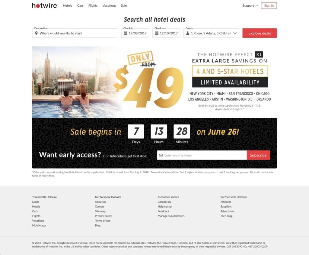 Deal Alert 4 5 Star Hotel Sale For July 4th Week Bohemian