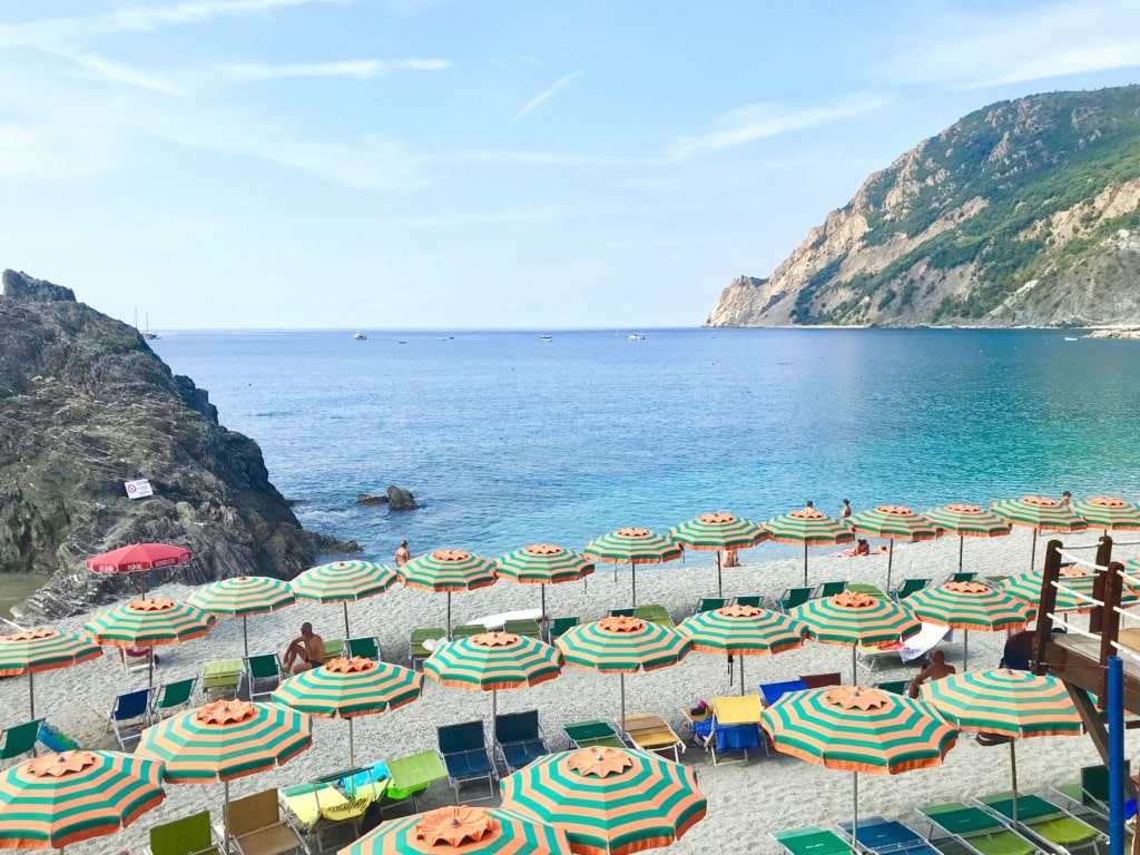 Beaches of Monterosso