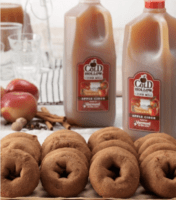 cold hollow cider donuts