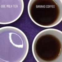 Ube Milk Tea & Barako Coffee
