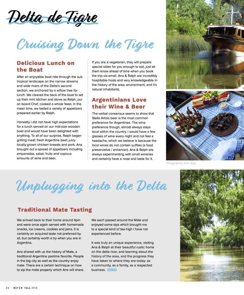 best tigre delta tour buenos aires