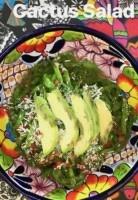 mexican cactus salad recipe