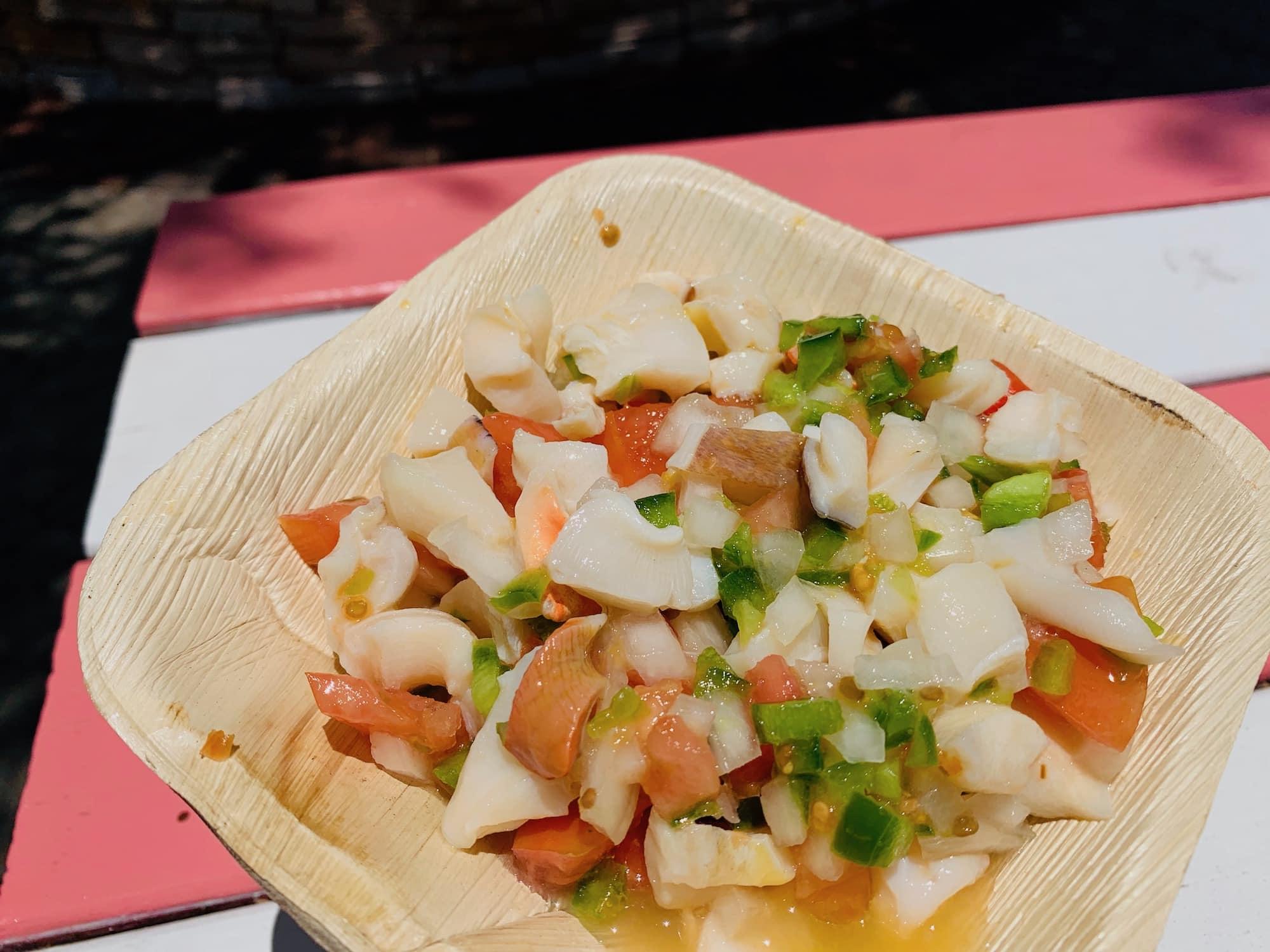 best conch salad in nassau
