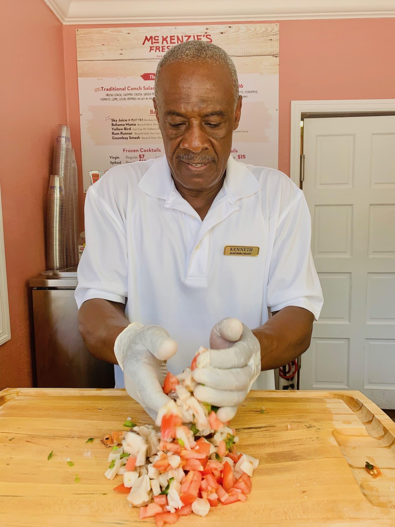 freshest conch salad in nassau