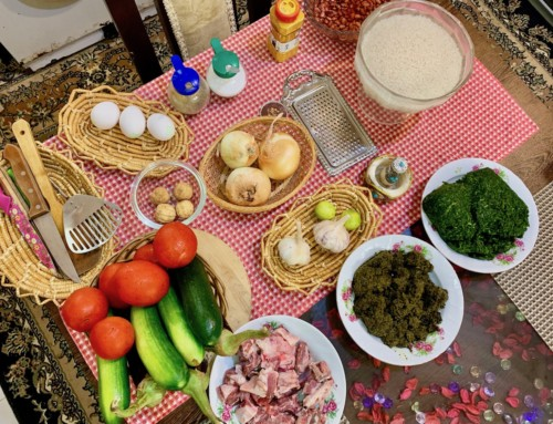 Cooking Class in Iran + Ghormeh Sabzi Recipe