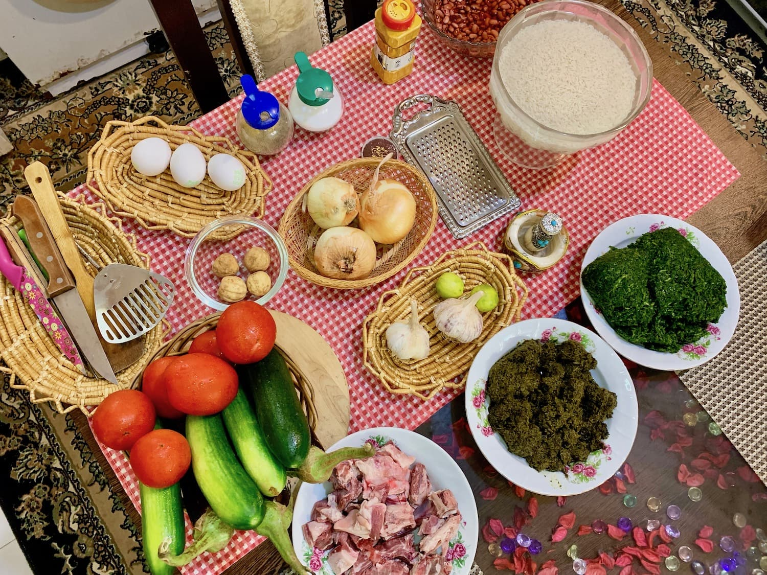 cooking class in iran
