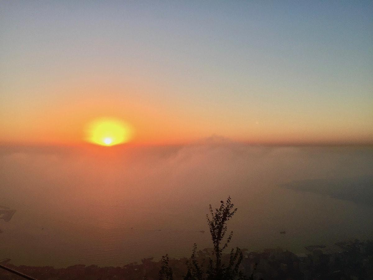 sunset in lebanon