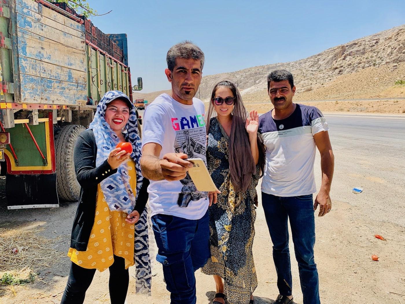 american tourist in iran
