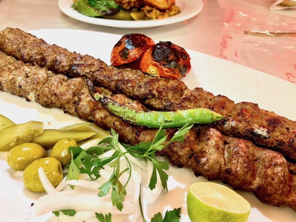 sheep koobideh in iran