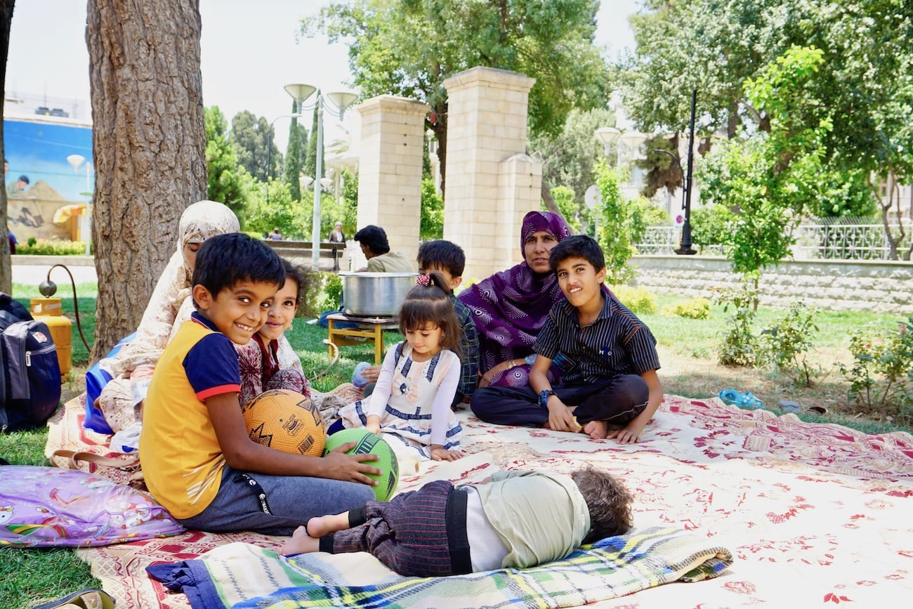 picnicking in iran