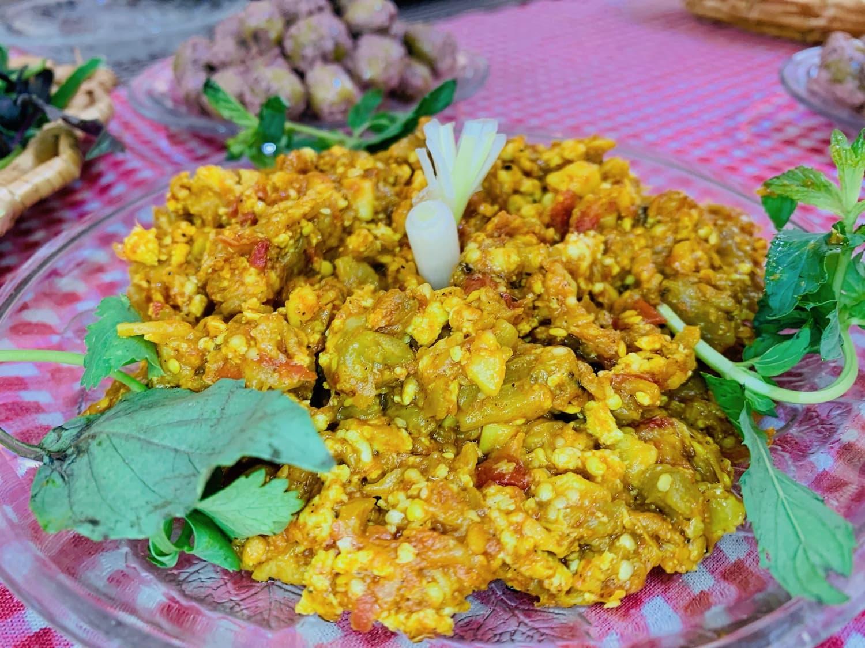 Mirza Ghasemi recipe