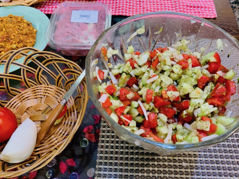 shirazi salad recipe