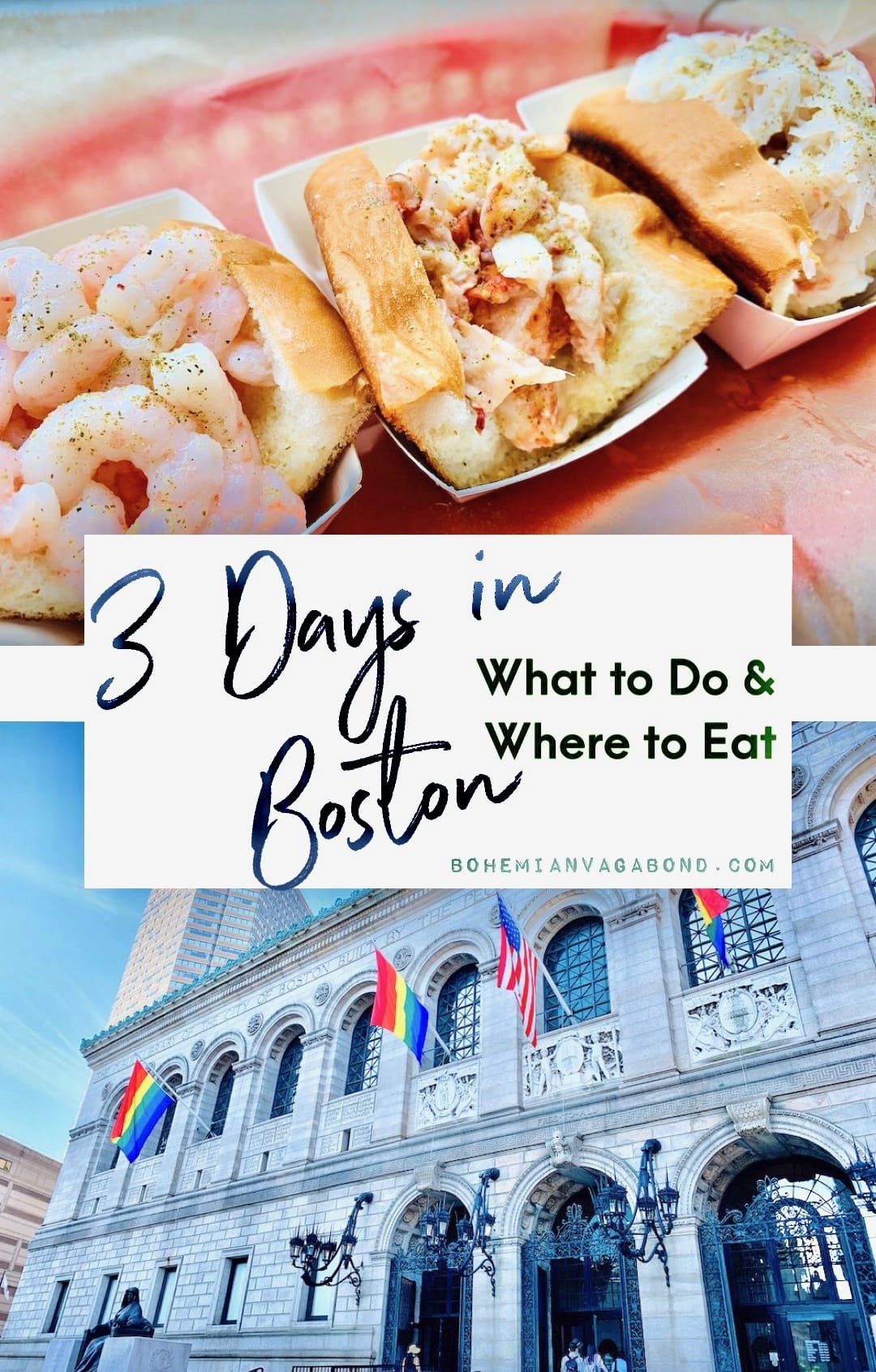 3 days in boston