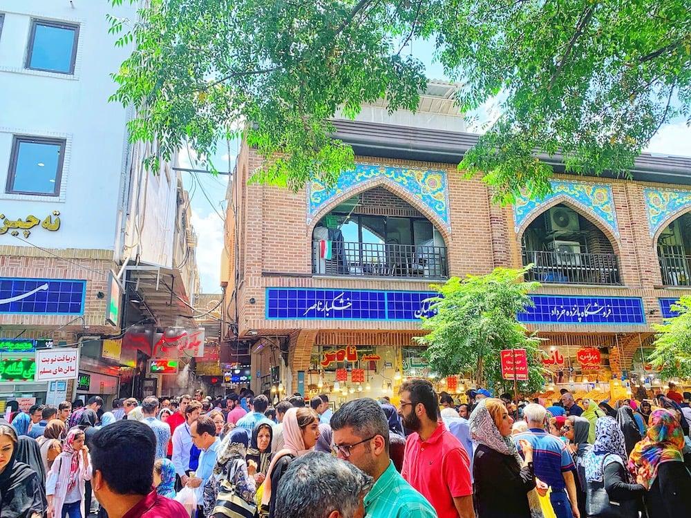 Grand Bazaar Tehran