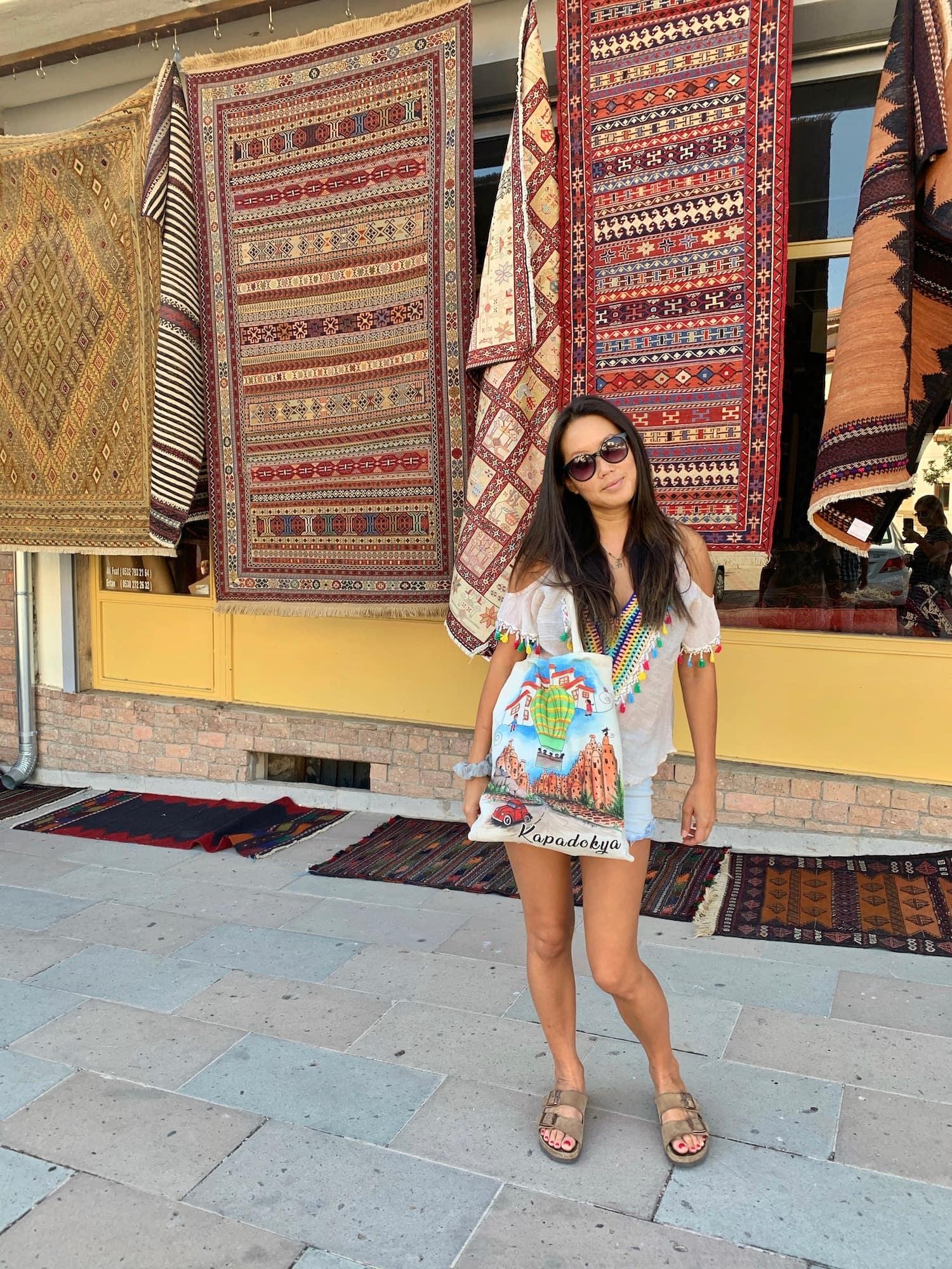 solo female travel cappadocia