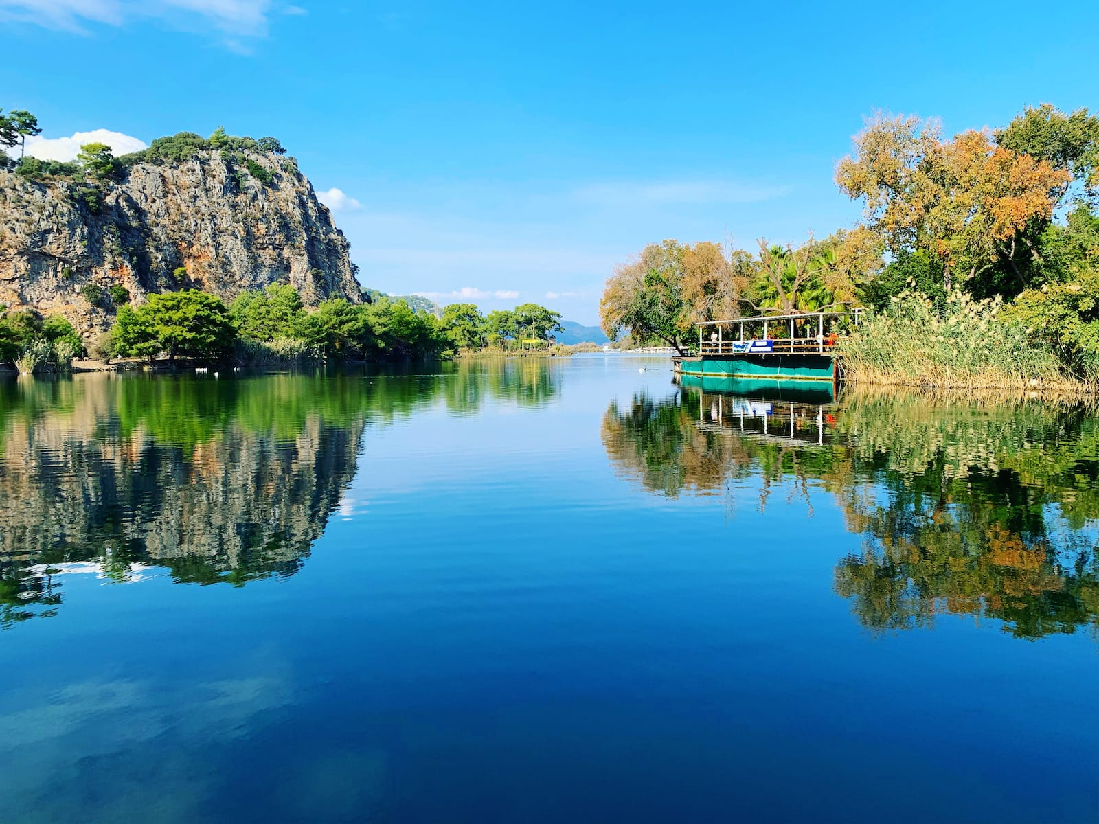 lake koycegiz dalyan turkey