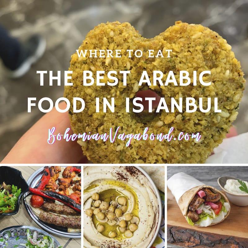 arabic restaurants istanbul